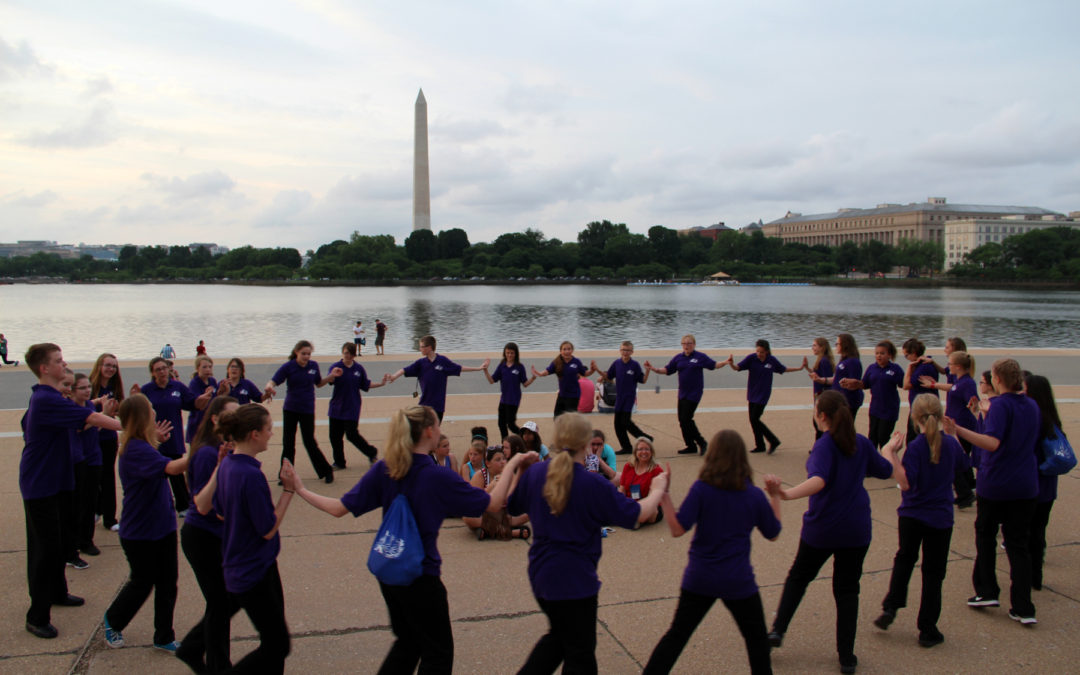 Cheyenne All City Children's Chorus Tours DC Over Memorial Day Weekend