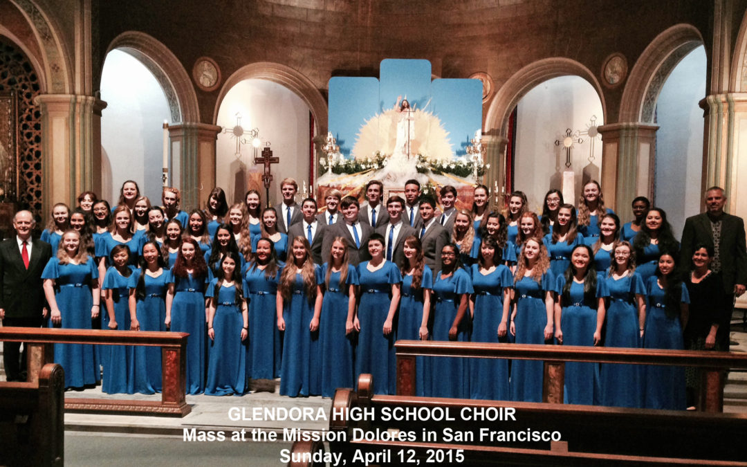Choral Clinic in San Francisco a Highlight for the Glendora High School Choir