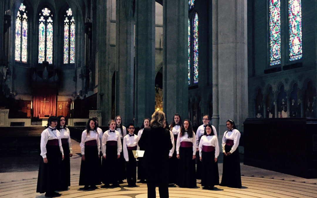 Hill Country Youth Chorus Enjoys the History and Performances in San Francisco