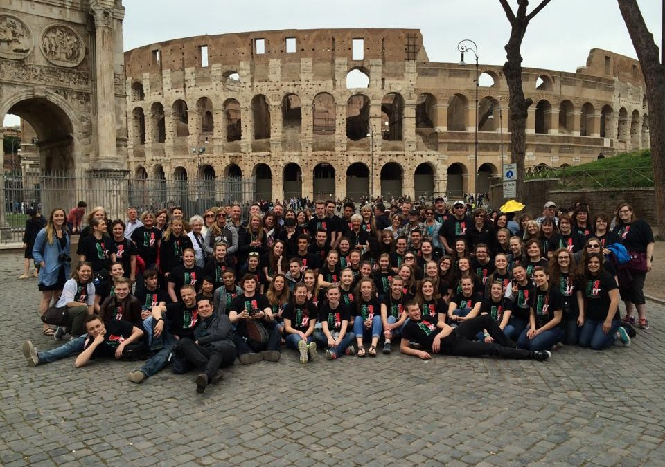 Kelly Walsh High School Choir Has Thrilling Performances in Italy