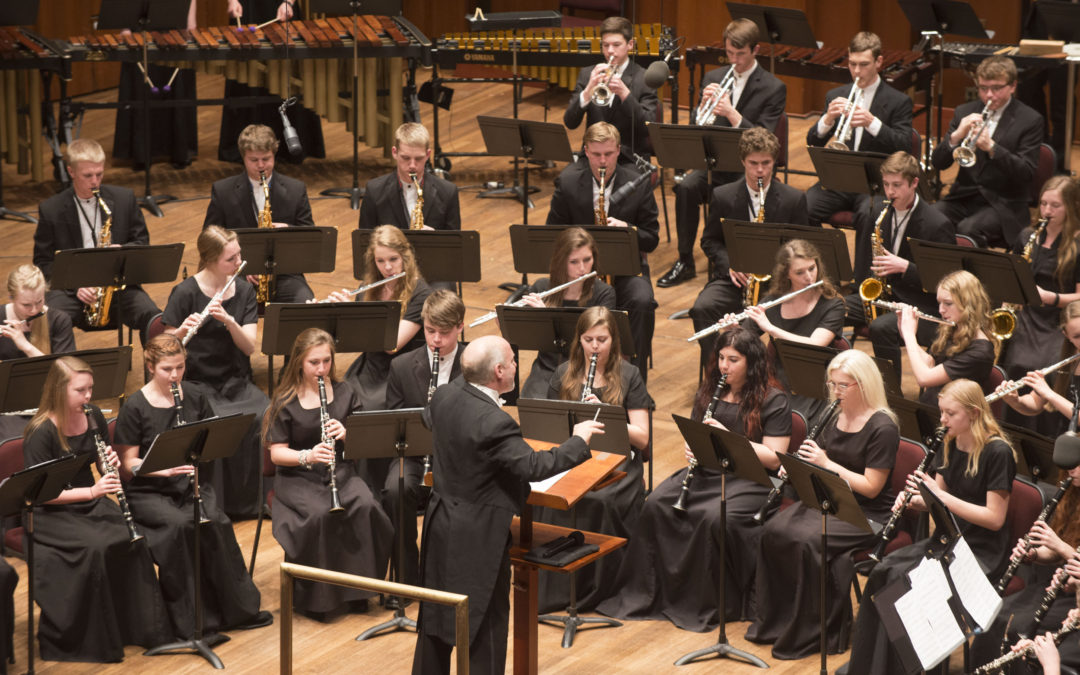 Stillwater Wind Symphony Performs at the Kennedy Center