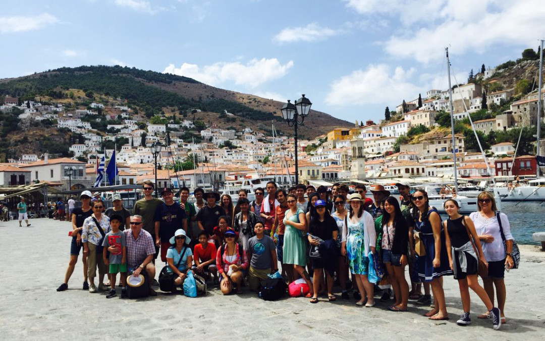 South Coast Youth Symphony Orchestra and Families Tour Greece