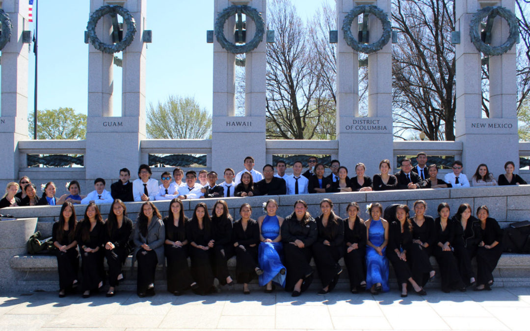 The St. Anthony Band Tours Washington, DC and Performs for Veterans